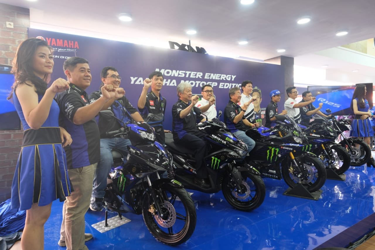 Yamaha luncurkan Monster Energy Yamaha MotoGP Edition
