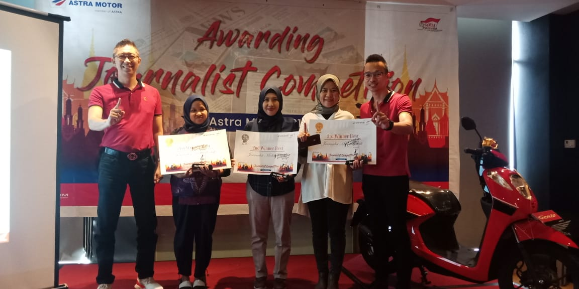 "Astra Motor Sumsel Umumkan ""Awarding Journalist Competition 2019"""
