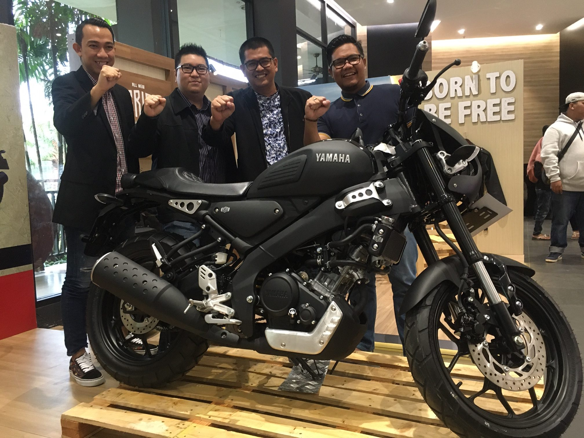 Thamrin Brothers Luncurkan All New XSR 155